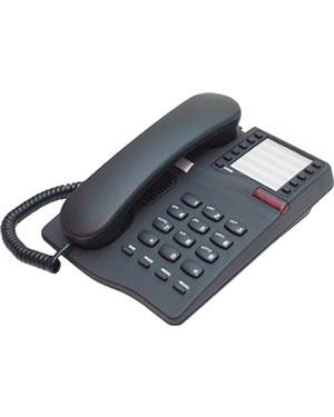 Interquartz Gemini IQ331B Analogue Black 10 memory Phone for Hotel
