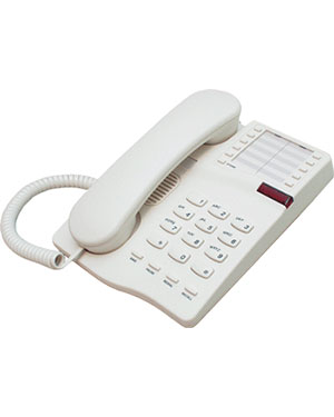 Interquartz Gemini IQ331C Analogue Black 10 memory Phone for Hotel