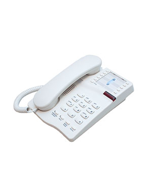Interquartz Gemini IQ333C Analogue Stylish easy to use phone for Hotel