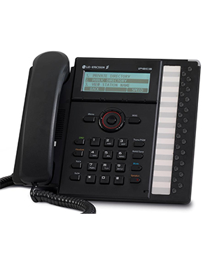 LG iPECS 8024E IP Phone (Black)