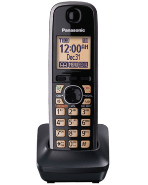 Panasonic KX-TGA410 Additional Cordless Handset to suit TG7652 & TG7653 Series (KX-TGA410)