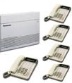 Panasonic Kx7330 Phone System 5 Handsets