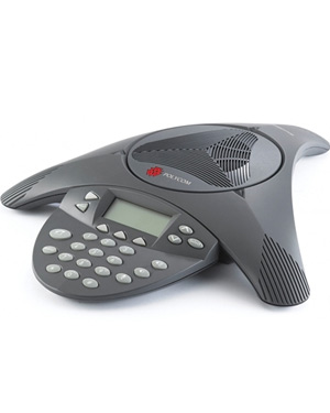 Polycom Soundstation2 Conference Phone non-expandable (with display)