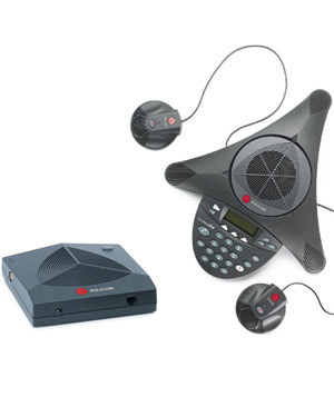 SoundStation 2W Wireless Conference Phone INCLUDING DUAL MICS (Expandable)
