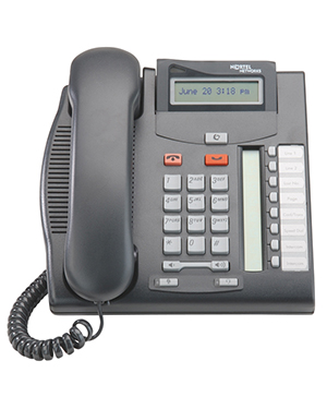 Nortel T7208 Digital Deskphone (Black)