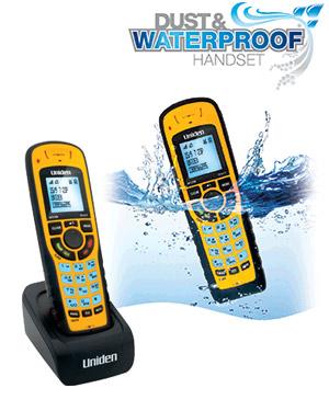 uniden xdect 8005wp cordless waterproof handset uniden 8005wp rh telephonesonline com au uniden xdect 8015 user manual