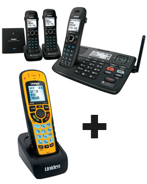 uniden xdect 8055 3wp cordless phone system with answering machine rh telephonesonline com au  uniden xdect 8015 user manual