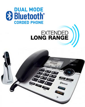 uniden xdect 6145btu 1h bluetooth and long range headset system. Black Bedroom Furniture Sets. Home Design Ideas