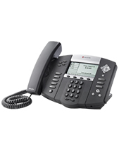 Polycom SoundPoint IP 560, Symbol Keycaps, SIP 4 line Gigabit Ethernet IP desktop phone with HD voice (2200-12560-225)