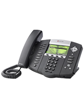 Polycom SoundPoint IP 670, Symbol Keycaps, 6-line color display IP phone with HD Voice (2200-12670-225)