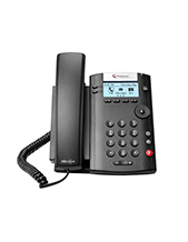 5-pk HD Voice Handset & Cord (For Polycom VVX 201)