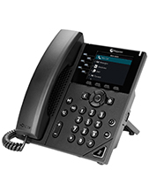 Polycom VVX 350 6-line Desktop Business IP Phone (PoE ONLY)