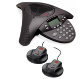 Avaya 4690 IP Soundstation Conference Phone Incl Pair Microphones and POE (Refurbished)