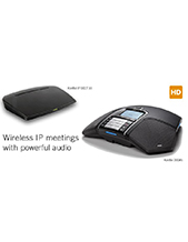 Konftel 300Wx with IP DECT 10 Conference Combination