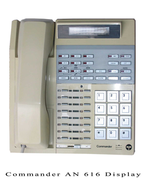 AN 616 Secondhand Commander Phone system Handset