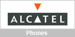 Alcatel IP Touch 4008 phone Ice Blue, 1x20 character display