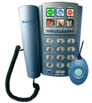 Water Proof BluePhone and wireless Pendant for Aged Care independant living Emergency
