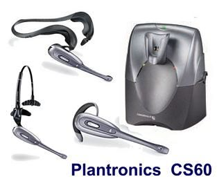 CS60 Plantronics, CS60 Plantronics wireless headset