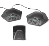 ClearOne Max IP Wired 2 Pods + Base VoIP conference phone