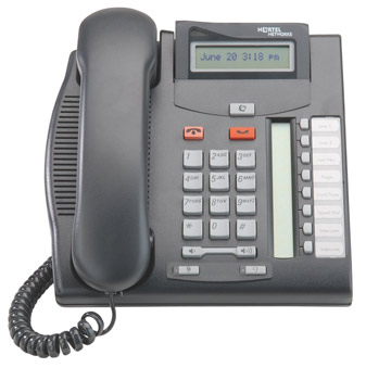 Commander T7208  handset Nortel T7208 phone NT8B26AABL (Refurbished Secondhand Used)