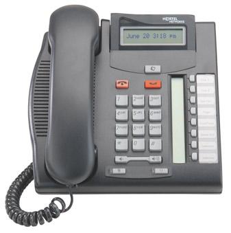 Commander T7208  handset Nortel T7208 phone NT8B26AABL (Refurbished Secondhand Used)