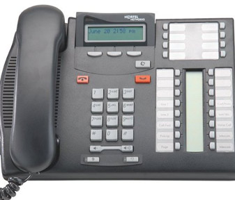 Commander T7316E handset Nortel T7316E phone NT8B27JAAA with Speaker Phone Button (Refurbished Secondhand Used)
