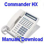 Commander HX Manuals Download User Guide Included