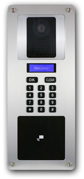 SIP IP Video Keypad Doorphone, IP based Video Doorphone