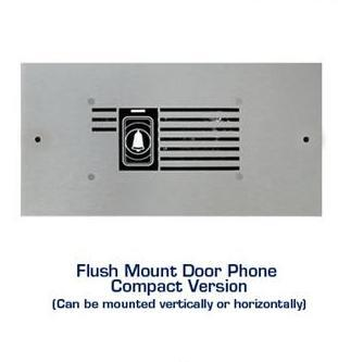 Door Phone Single Press Button , Steel Housed