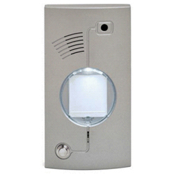 Apartment Back Light Door Phone Builtin Colour TV Camera  and Single Press Button , Steel Housed