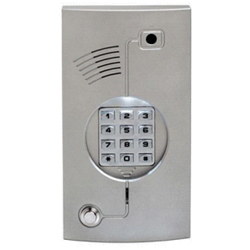 Apartment Back Light Door Phone with Builtin Col0ur TV Camera and Keypad