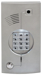 Apartment Back Light Door Phone with NO Builtin Colour TV Camera , keypad intercom