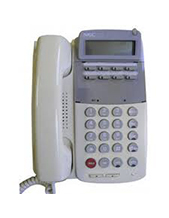 NEC ETJ 8-button White PABX Telephone