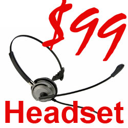 Headset M501 Connect Directly into the most Modern Business Phones