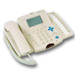 Hybrex DK2-21 Handset Telephone - WHITE Handset