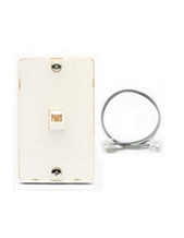 Interquartz Wall Mount for IQ50 Slimline Analogue Phone