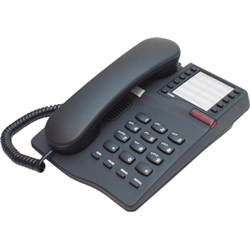 IQ 331, BLACK Telephone including Handsfree - Headset telephone with 10 memories and Message wait light (BLACK)