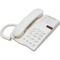 IQ 331, Telephone including Handsfree - Headset telephone with 10 memories and Message wait light (CREAM)