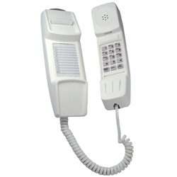 IQ 50, Slim Line Wall Mounting Telephone including Handsfree - Headset telephones (CREAM)