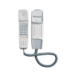 IQ 50, Wall Mounting Slim Telephone Handset with Cord(GRANITE)