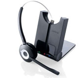 Jabra PRO 920 Wireless Headset with noise cancelling, talk 8 hrs, range 120 meters, GN 920 Office Telephone Headset