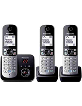 Panasonic KX-TG6823 Cordless Phone (Refurbished)