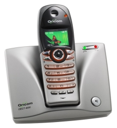 USER MANUAL DOWNLOADM4000 , CORDLESS PHONE Oricom M4000 DECT CORDLESS