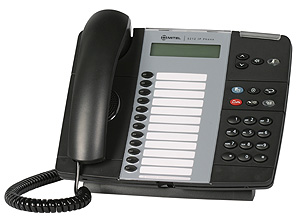 Mitel Networks 5212 IP Phone Handset is a an Enterprise class, dual port, dual mode 2 X 20 characters per line white backlit graphics display (with dimming and contrast control) phone