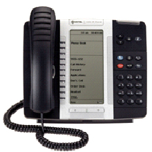 Mitel Networks 5330 IP Phone Handset is a full-feature enterprise-class telephone that provides voice communication over an IP network