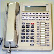 NEC NEAX SDS 2400 Command Manual Programming Instructions Manuals Dterm16d-ete-16d-1a,Dterm6d-ete-6d-1a, Handset