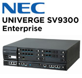 NEC UNIVERGE SV9300 Telephone System for Enterprise