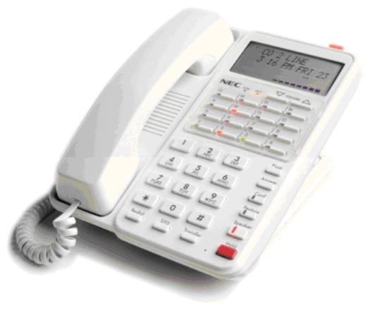 NEC Xen Alpha Display DTB-16D-1A(WH) Telephone Refurbished
