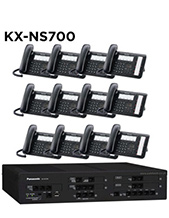 Panasonic KX-NS700 Phone System with 12 Handsets