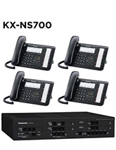 Panasonic KX-NS700 Phone System with 4 Handsets